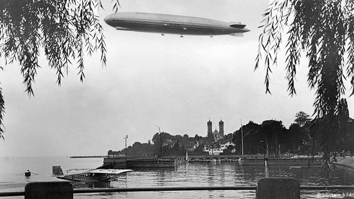 Боденское озеро, 1928 год