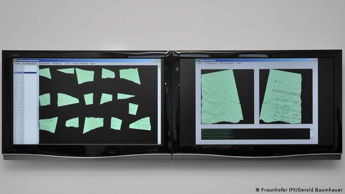 Reconstructing pieces Copyright: Fraunhofer IPK/Gerold Baumhauer