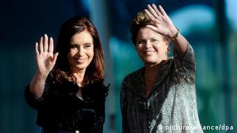 Dilma Rousseff, Cristina Fernandez de Kirchner