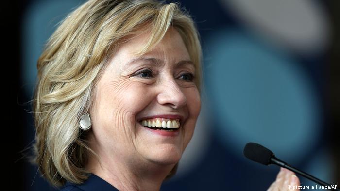 Die ehemalige US-Außenministerin Hillary Clinton. (Foto: AP)