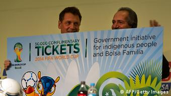 Tickets FIFA Weltmeisterschaft 2014 in Brasilien Bild:Getty Images