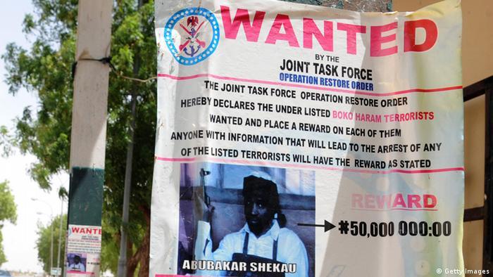 Fahndungsfoto Abubakar Shekau