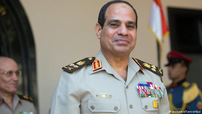 Verteidigungsminister Abdel Fattah al-Sisi