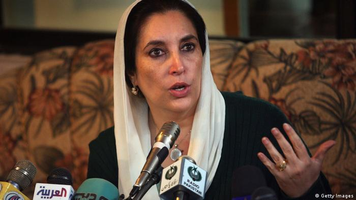 Former Pakistani PM Benazir Bhutto (Getty Images)