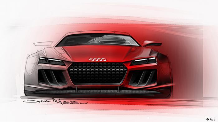 IAA 2013 Audi Quattro Concept Car Quelle: Audi Frei zur Verwendung für Pressezwecke