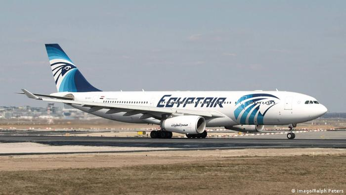 Egypt-Air-Maschine. Foto: Ralph Peters/imago
