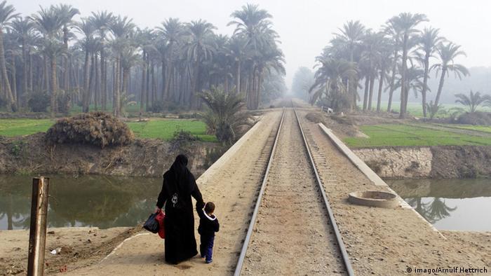 Wirtschaft Ägypten Schienennetz