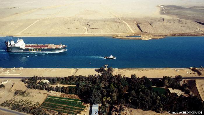 Wirtschaft Ägypten Suez Kanal
