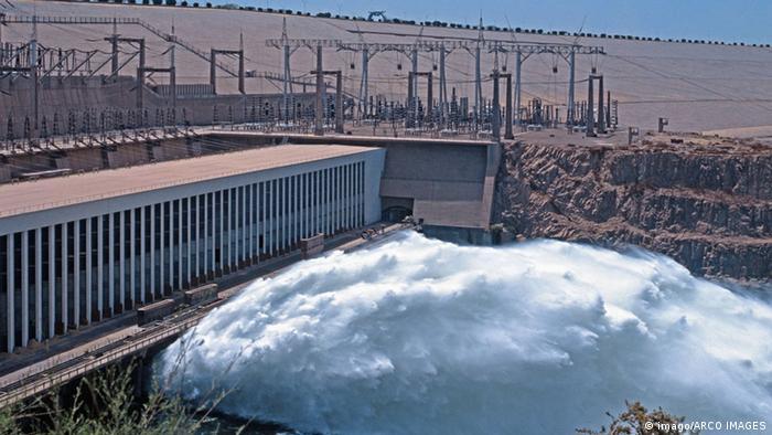 Wirtschaft Ägypten Wasserkraftwerk Assuan-Staudamm