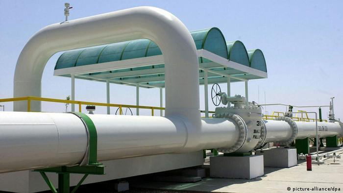 Wirtschaft Ägypten Gas Pipeline (picture-alliance/dpa)