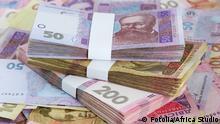 Ukraine Banknoten Geld