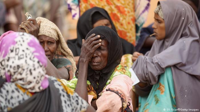 Wakimzi wa Somalia katika kambi ya Dadaab Kenya.