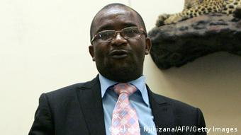 MDC lawyer and spokesman Douglas Mwonzora (Photo. Jekesai Njikizana/AFP/Getty Images)