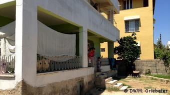 Das Haus von Ahmed und seiner Familie; sie sind aus Homs nach Reyhanli geflüchtet (Foto: Monika Griebeler)