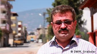 Mustafa Sakman, stellvertretender Bürgermeister von Kirikhan, Türkei (Foto: Monika Griebeler)