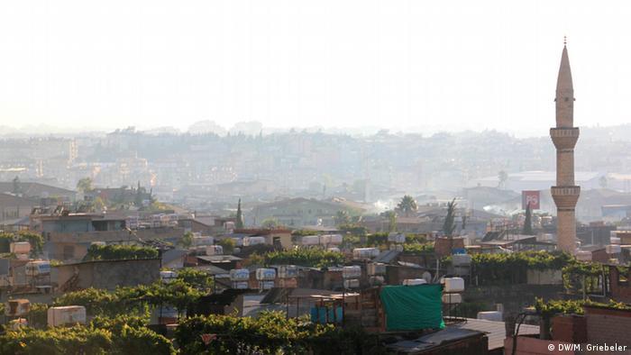 Blick auf die türkische Stadt Antakya (Foto: Monika Griebeler)