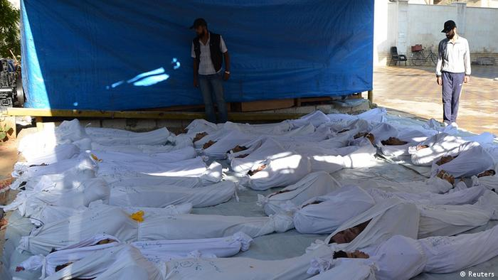Žrtve napada kod Damaska