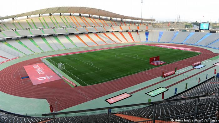 Istanbul's Ataturk Stadium