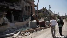 Syrien Rebellen berichten von Giftgasangriff im Region Ghouta