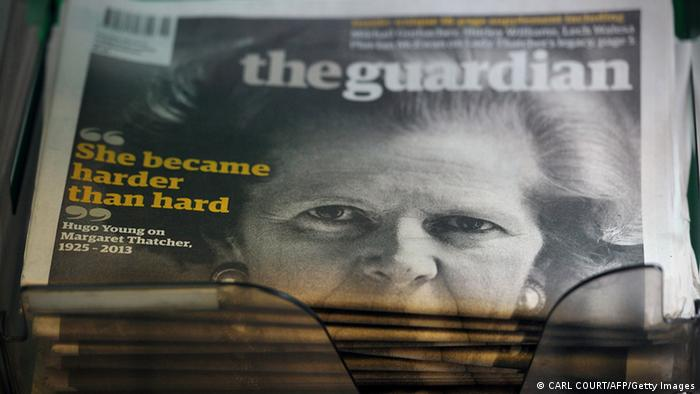 Zeitung The Guardian