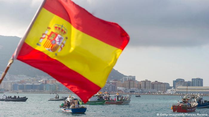 Symbolbild - Streit um künstliches Riff zwischen Großbritannien und Spanien (Getty Images/Afp/Marcos Moreno)
