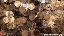 Deutschland Kleingeld Cent Münzen