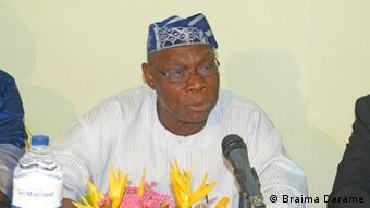 El expresidente Olusegun Obasanjo.
