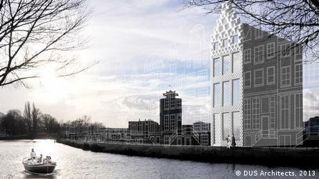 Häuser 3D Druck Amsterdam