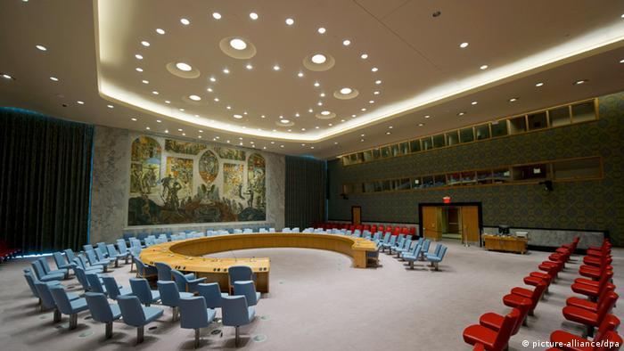 UN Sicherheitsrat Symbolbild