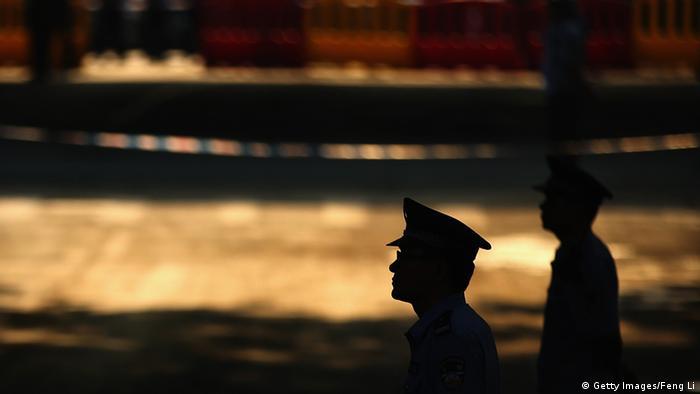 Prozessauftakt in China gegen Bo Xilai 22.08.2013 (Getty Images/Feng Li)