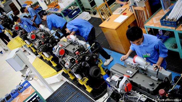 Maschinenbau in Guangxi Yuchai Machinery Co. China