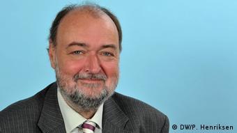Bernd Johann. (Photo: DW/Per Henriksen)