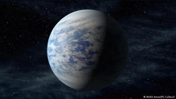 Symbolbild - Sternsystem Kepler 69c