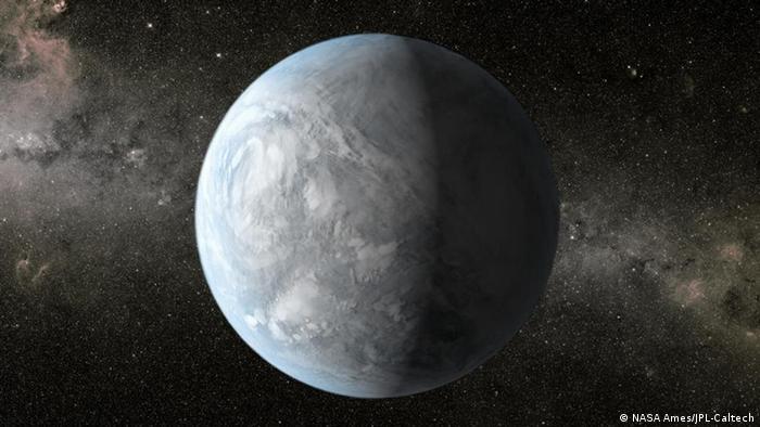 Symbolbild - Sternsystem Kepler 62e