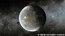 Symbolbild - Sternsystem Kepler 62f