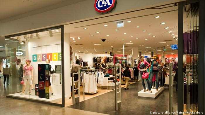Retail clothing shop in Germany