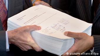 Отчет комиссии бундестага по делу NSU