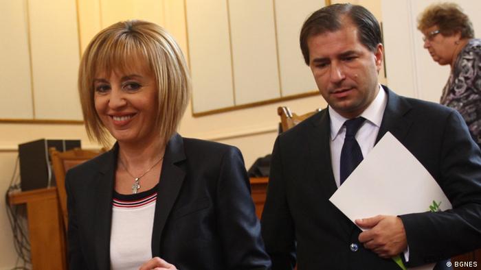 Bulgarien - Abgeordnete Maya Manolova und Borislav Zekov