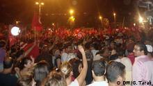 Tunesien Demonstration Bardo