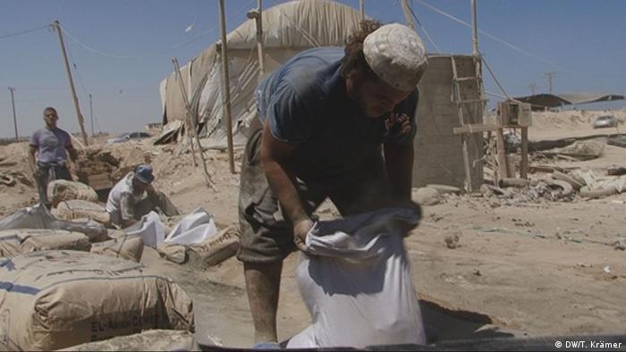 Gaza Streifen Tunnelarbeiter im Gazastreifen Bild: DW/Tania Krämer, DWTV