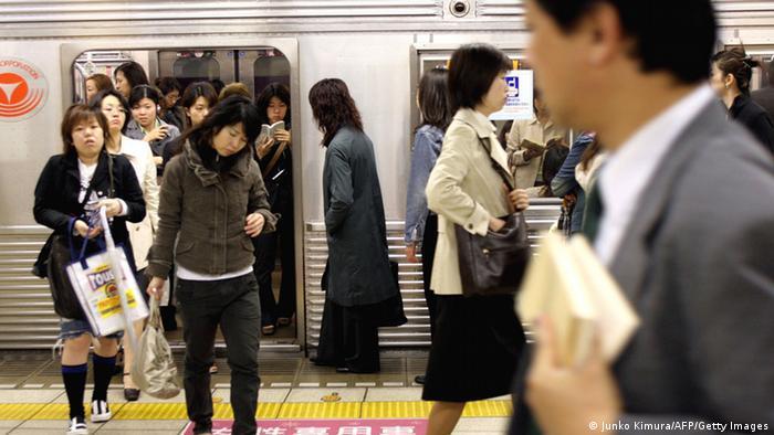 Japan Öffentlicher Personennahverkehr in Tokio (Junko Kimura/AFP/Getty Images)