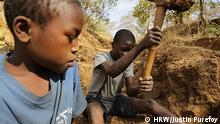 Kinderarbeit in Goldminen in Tansania