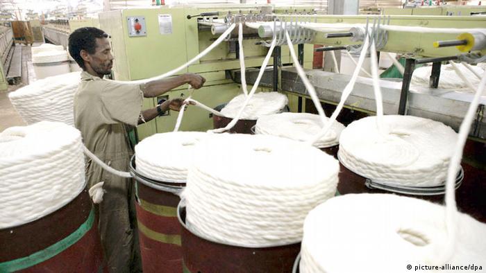 Äthiopien Textilindustrie (picture-alliance/dpa)
