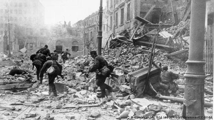 Walki na ulicach Warszawy