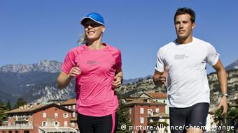 Joggen Freizeit Sport