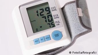 Blutdruckmessgerät idealer Blutdruck