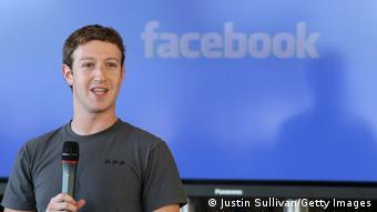 Facebook founder Mark Zuckerberg delivers a speech, Photo: Justin Sullivan/Getty Images