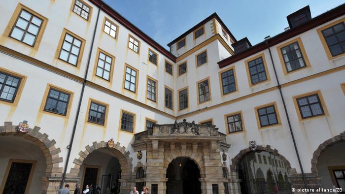 Дворец Фриденштайн: здесь картины хранились с XVII века
