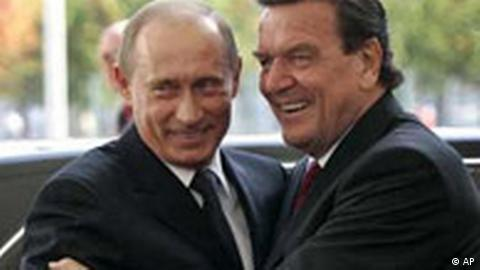 Many Germans have also criticized Schröder's closeness to Russia's Putin