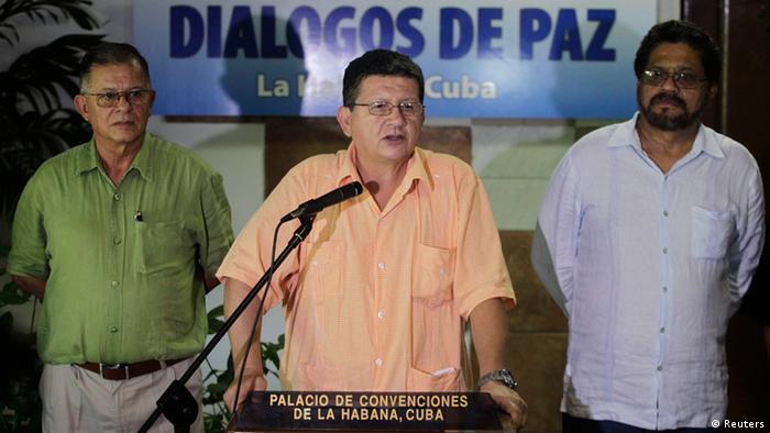FARC-Rebellen unterbrechen Friedensgespräche